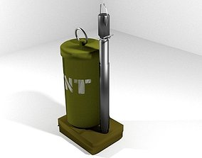 Landmine Fragmentation Anti-Vehicle 3D