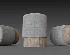 Homemade puf cylinder 3D