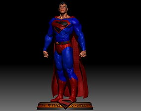 Superman Kingdom Come 3D printable model