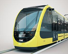 CAF Urbos tram 4k texture PBR ready 3D model