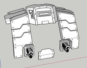 3D printable model Heavy Cybot Seigebreaker Armour Mk1