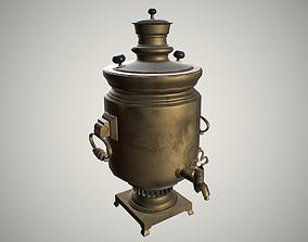 3D asset Samovar