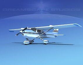 Cessna 172 Skyhawk STOL V06 3D model