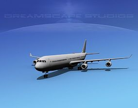 Airbus A340-600 SS 3D model