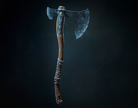 3D asset God Of War 4 Leviathan s Axe
