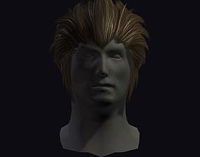 3D model hair style 21