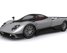 3D model Pagani Zonda F