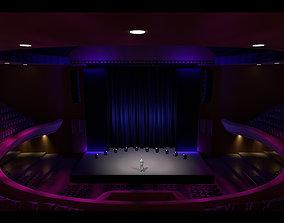 Masonic Theater 3D model