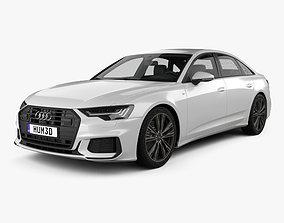 Audi A6 sedan S-Line 2018 3D