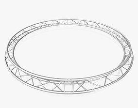 3D Circle Triangular Truss Full diameter 400cm