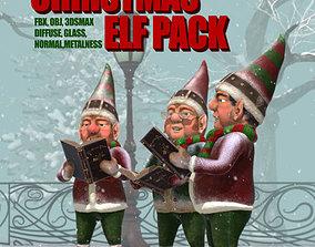 Christmas Elf Pack 3D model