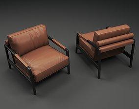3D model Fendi Casa Kathy Arm Chair chair