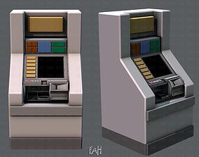 Ticket Cabinet 3D asset