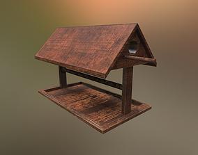 Bird House PBR 3D model