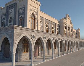 Old Train Station 3D model