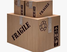 Carton Box 3D model