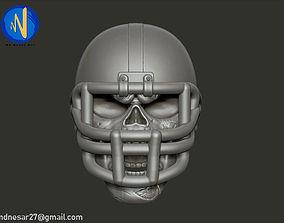 Skull head 3d print model zombie