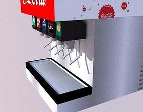 3D model Beverage Dispenser