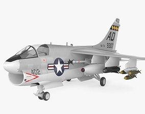 3D model LTV A-7 Corsair II