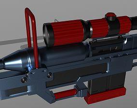 3D printable model Sniper Rifle srs99d