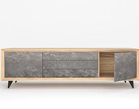 Modern tv cabinet 2 3D