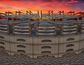 Colosseum 3D model game-ready