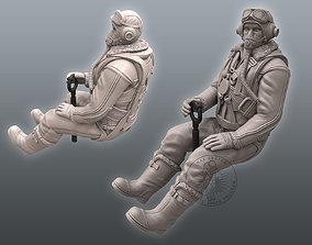 3D print model Spitfire Pilot hurrikane