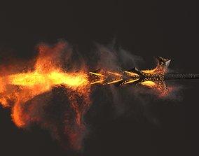 3D model Hells Keeper Sword