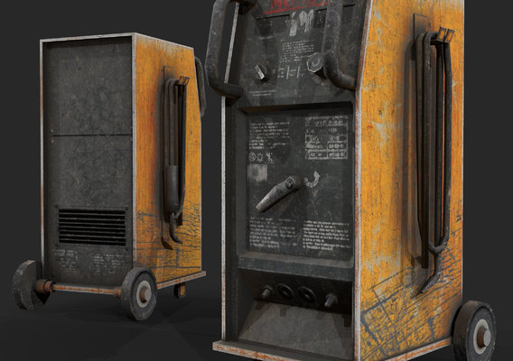 PBR welding station for games