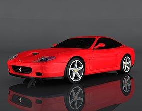 Ferrari 575M 3D asset