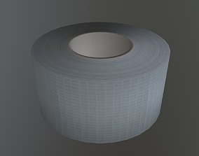 3D model low-poly Duct Tape