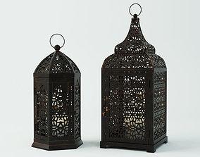 Moroccan Lanterns 2 3D model