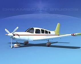 3D Piper Cherokee Six 300 V07