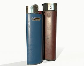 Disposable lighters 3D model