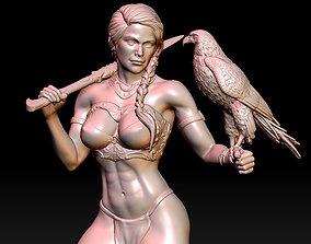 Kassandra woman 3D print model