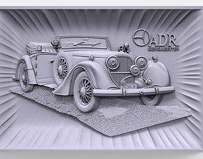 3D print model Austro Daimler ADR 6 Bergmeister bas relief