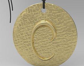 3D printable model Alphabet Latin C pattern