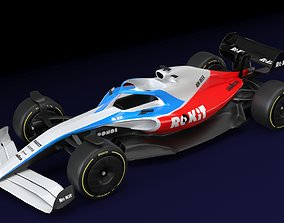 ROKiT WILLIAMS RACING 2021 - 2023 3D model
