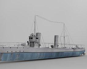 3D model The Sultanhisar Torpedo Boat