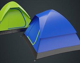 Camping Tent 2A 3D asset