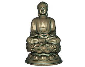 3D print model 3D asset Buddha