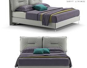Bed Felis Rey 3D