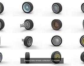 3D wirewheel Diecast wire wheels collection