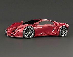 Exona supercar concept 3D