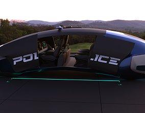 3D Flying Car Concept