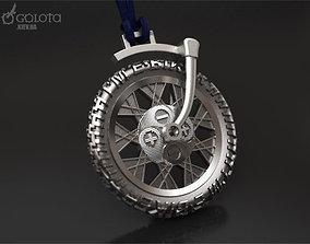 Ebiker rotating small original pendant 3D print model