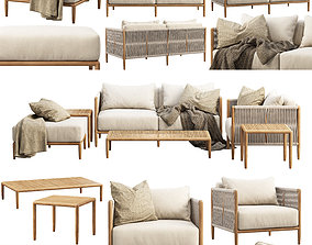 Brown Jordan Maldives outdoor furniture 3D model
