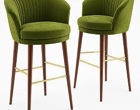 3D barchair Lupino bar chair - Ottiu