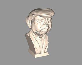 Bust Donald Trump 3D printable model