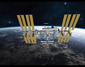 3D model International Space Station ISS